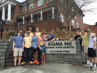 Sigma Nu Recruits 25 New Members, Helps Raise $400K for Poker Run