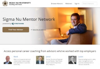 Sigma Nu Headquarters Officially Launches a Mentor Network