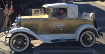 Sigma Nu Brother Receives One of the Greatest GT Honors